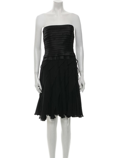 T by Tadashi Strapless Mini Dress Black