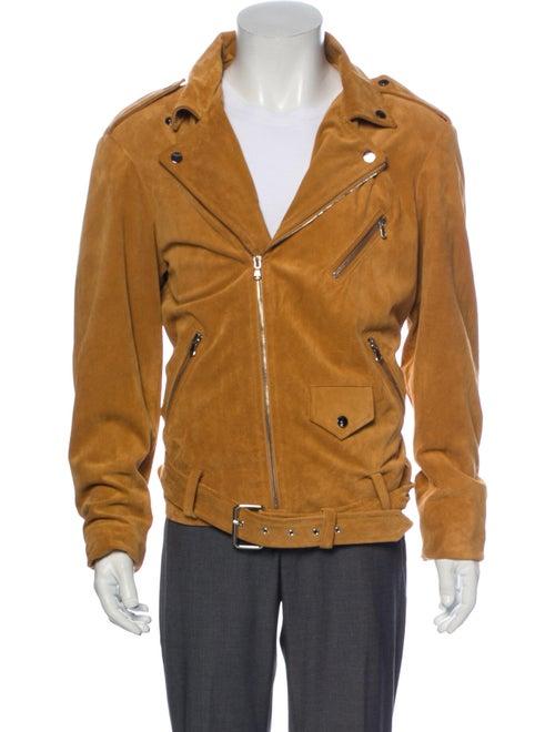 Todd Patrick Moto Jacket Moto Jacket Brown