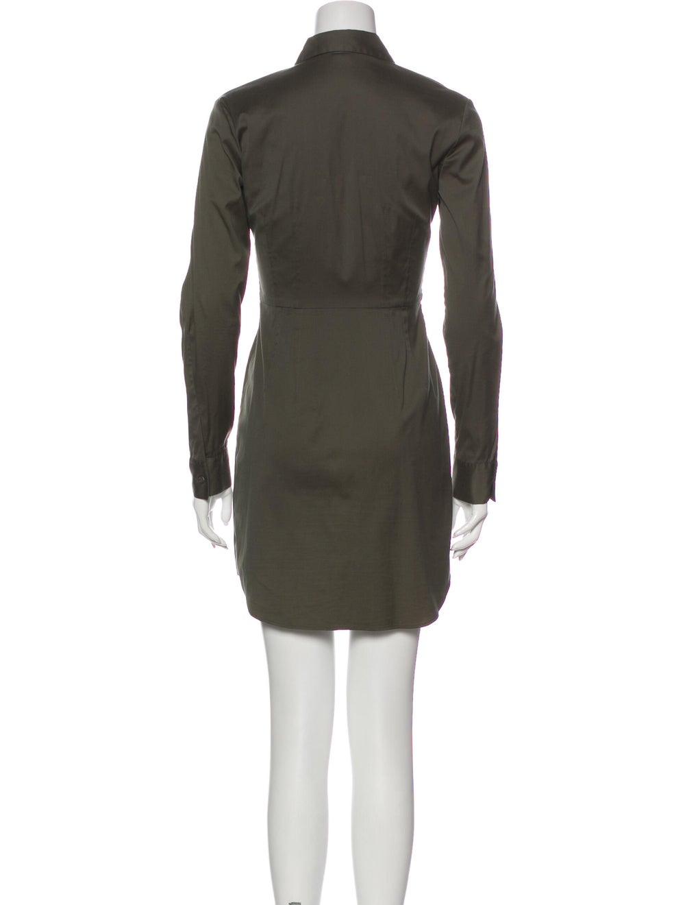 Theory Mini Dress Green - image 3