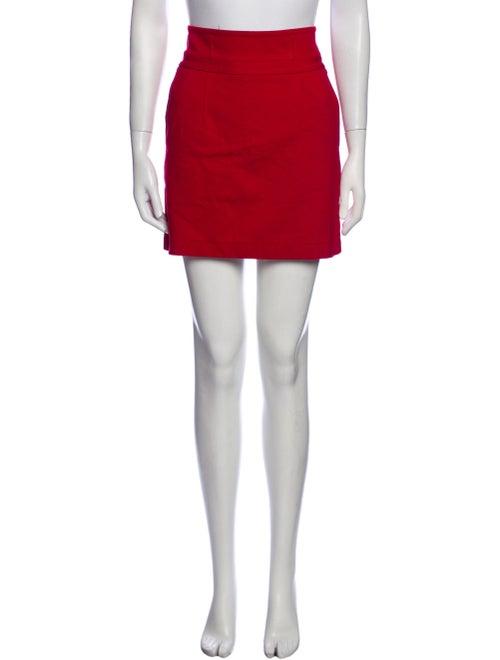Theory Mini Skirt Red