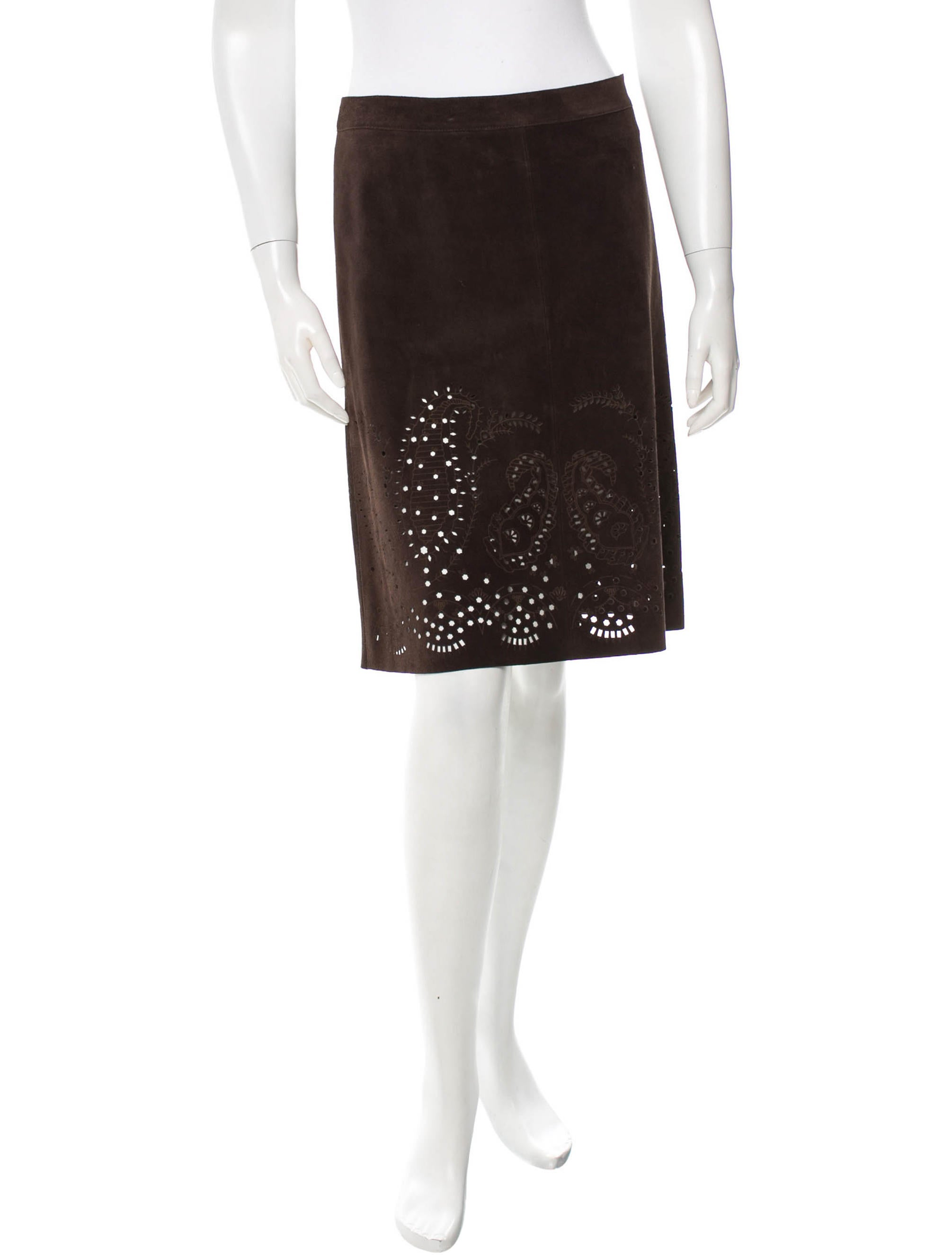 theory suede leather a line skirt clothing wte21519