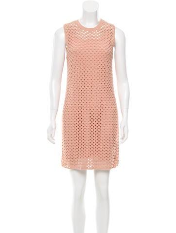 Theory Sleeveless Knit Dress None