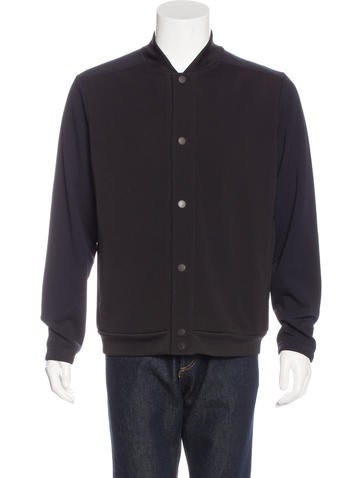 Theory Stand Collar Colorblock Jacket None