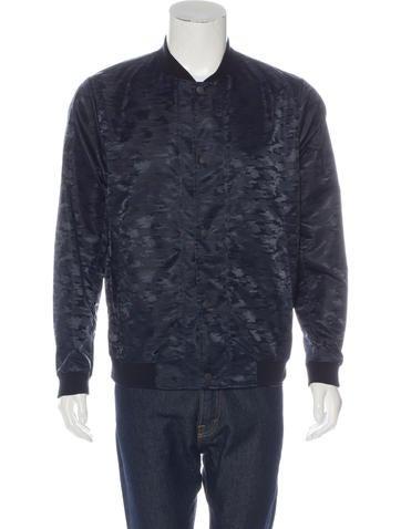 Theory Nylon Camouflage Jacket None