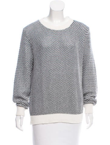 Theory Abstract Rib Knit Sweater None