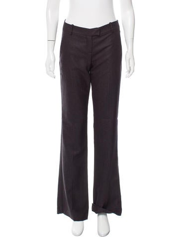 Theory Ashleen Mid-Rise Pants w/ Tags None