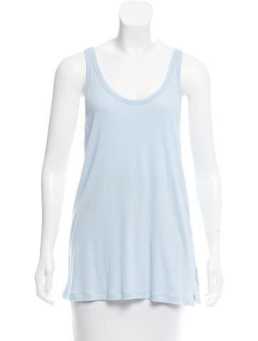 Theory Sleeveless Ribbed Top w/ Tags None