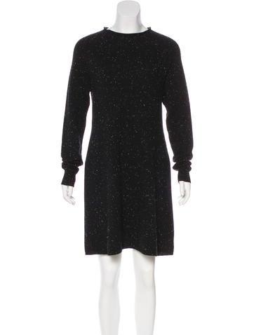 Theory Mini Sweater Dress None