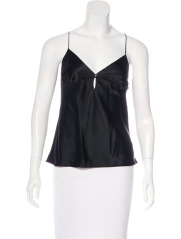 Theory Silk-Blend Top None