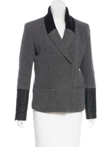 Theory Wool Structured Jacket None