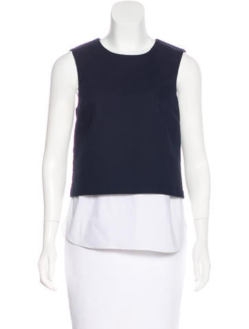 Theory Sleeveless Knit Top None