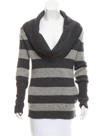 Theory Cowl-Neck Sweater None