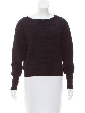 Theory Relaxed Boat Neck Sweater w/ Tags None
