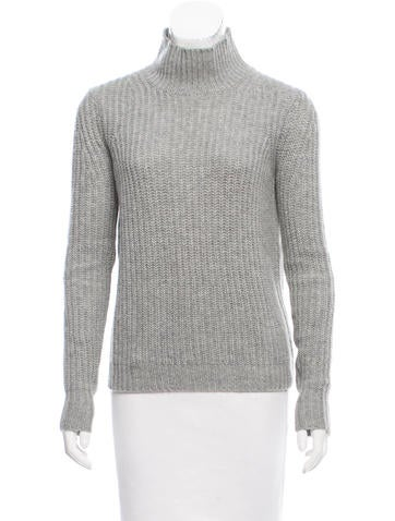 Theory Cashmere Turtleneck Sweater None