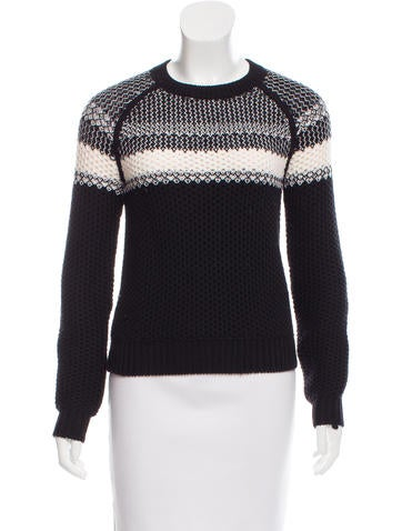 Theory Wool Knit Sweater None
