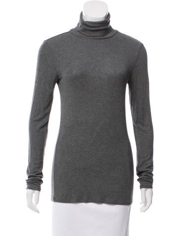 Theory Turtleneck Long Sleeve Top None