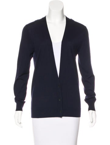 Theory Wool Knit Cardigan None