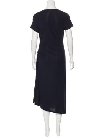 Short Sleeve Midi Dress w/ Tags