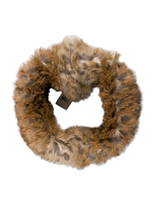 Theory Fur-Trimmed Snood
