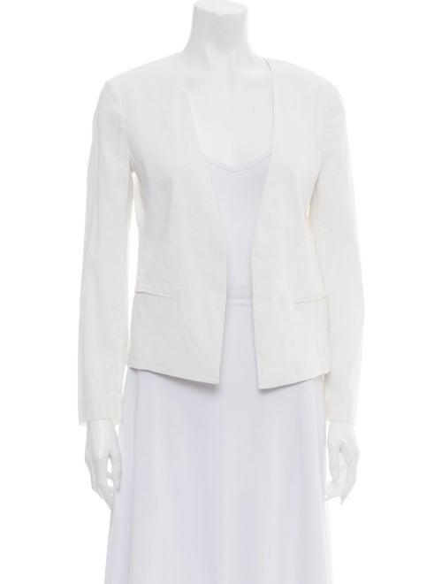 Theory Linen Jacket White