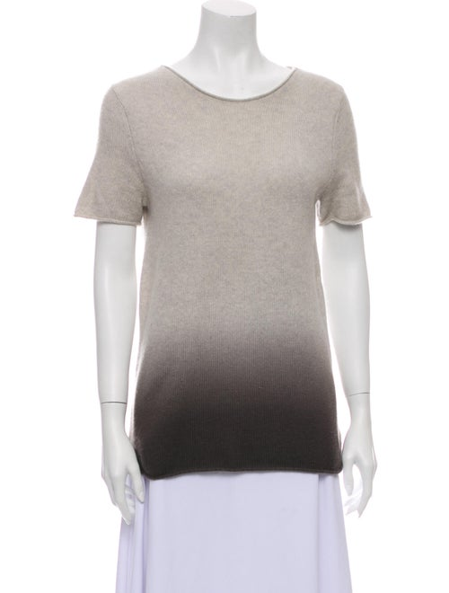 Theory Cashmere Tie-Dye Print Sweater
