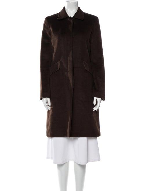 Theory Fleece Wool Coat Wool