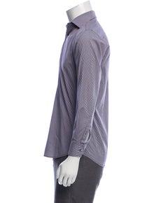 Theory Gingham Dress Shirt