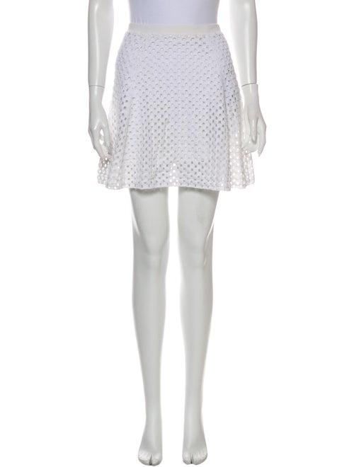 Theory Mini Skirt White