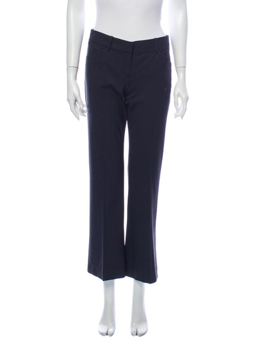 Theory Wool Wide Leg Pants Wool