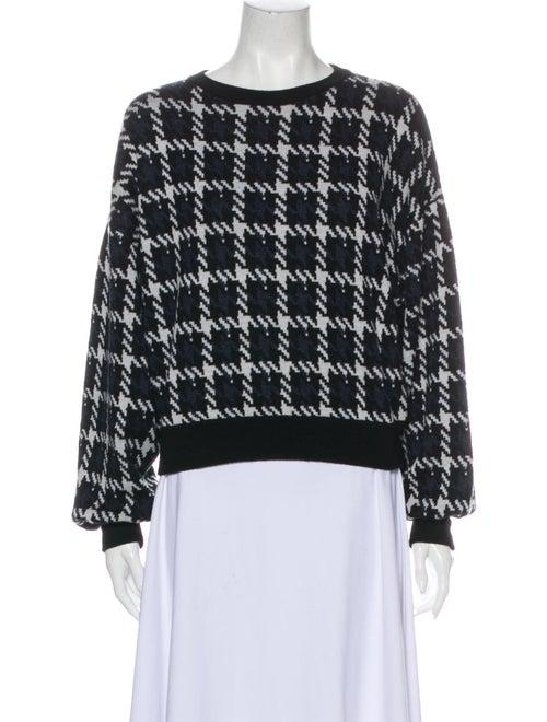 Theory Wool Printed Sweater Wool