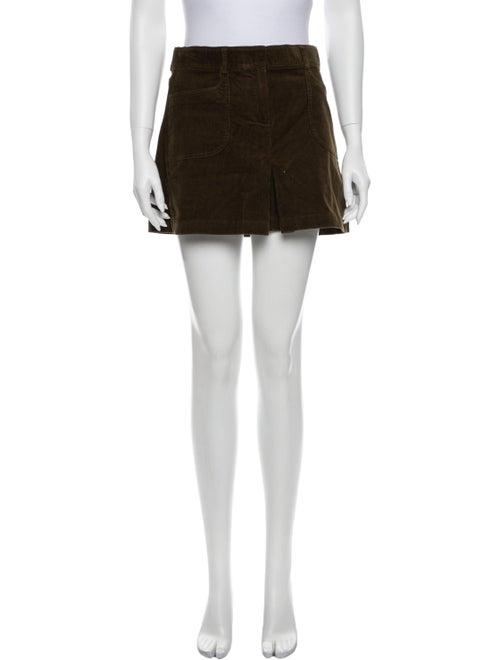 Theory Mini Skirt Green