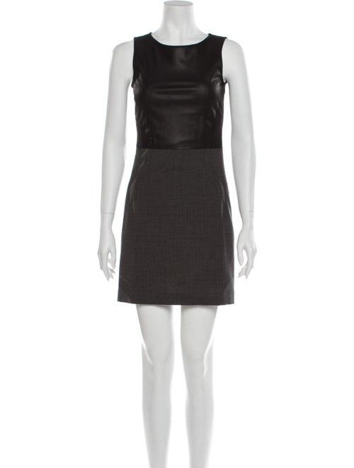 Theory Virgin Wool Mini Dress Wool