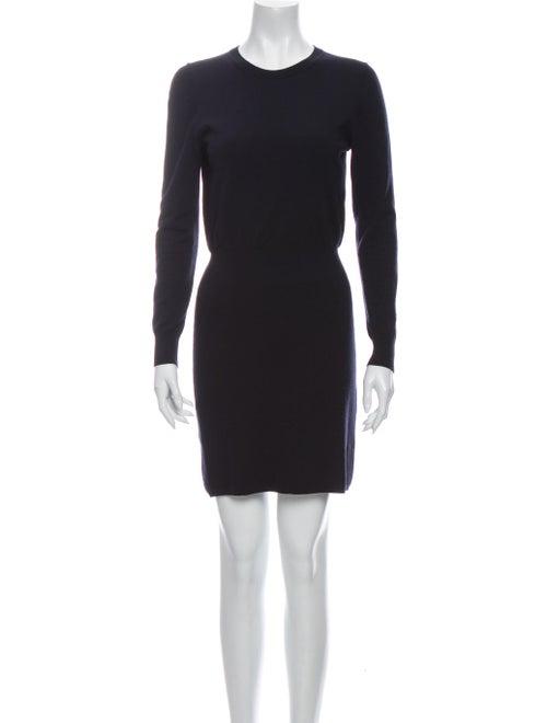 Theory Wool Mini Dress Wool