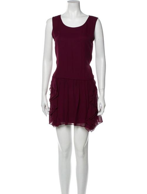 Theory Silk Mini Dress