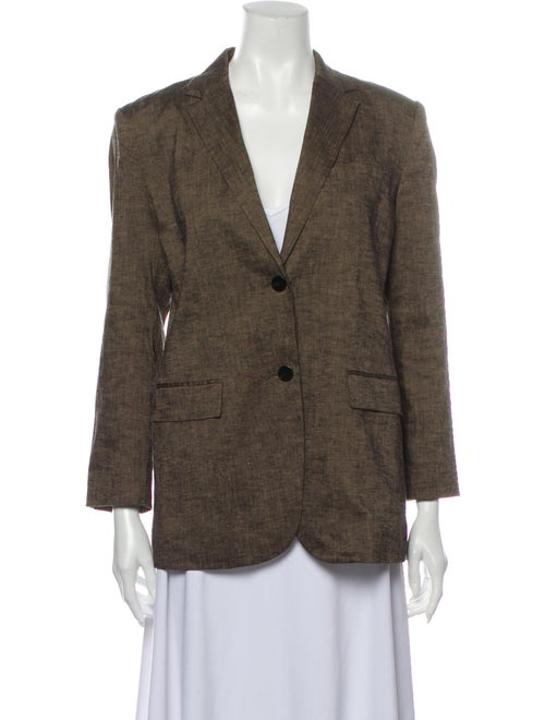 Theory Linen Set Brown