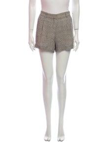Theory Silk Mini Shorts