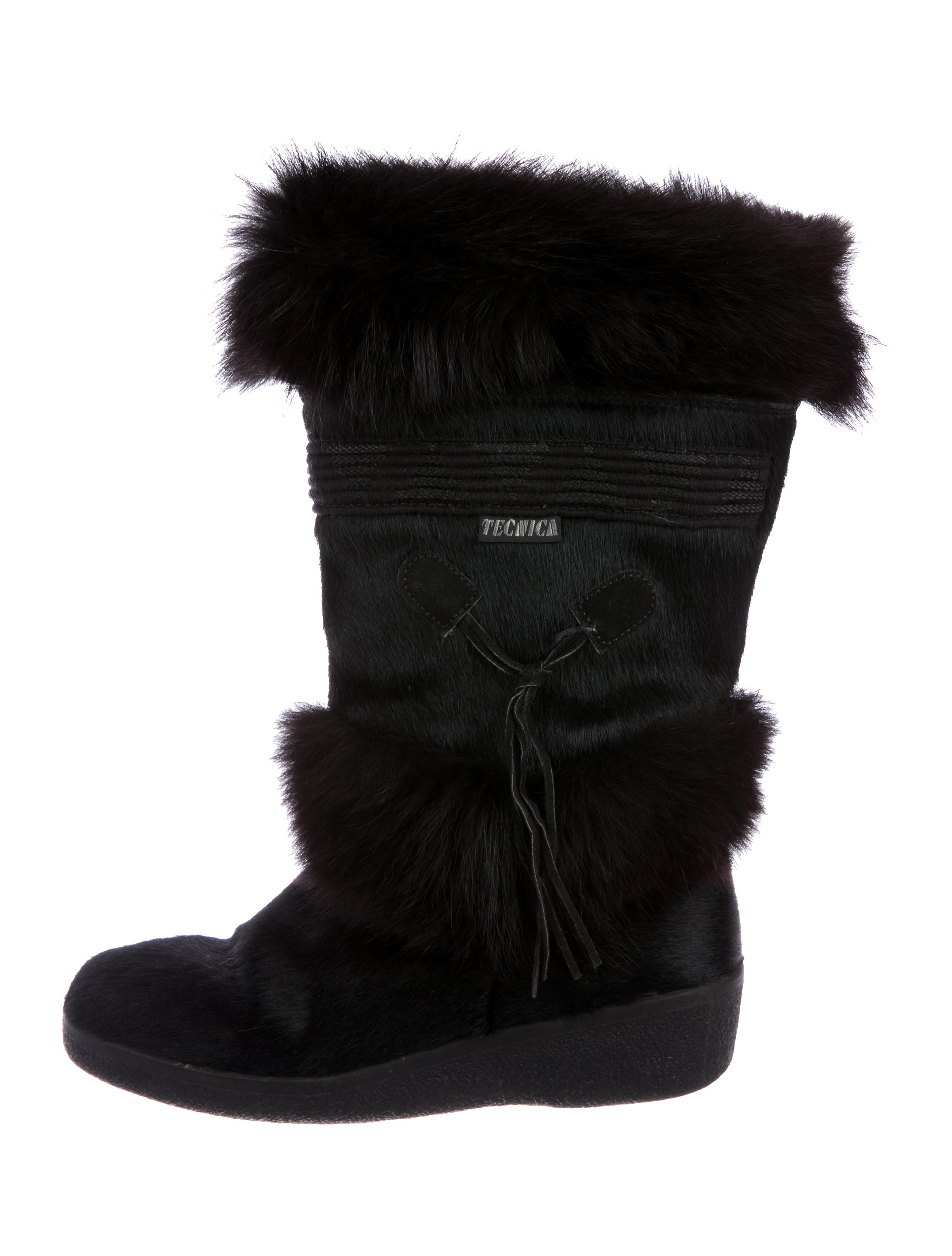 cheap best sale Tecnica Fox-Trimmed Ponyhair Boots amazing price for sale 2e7qie