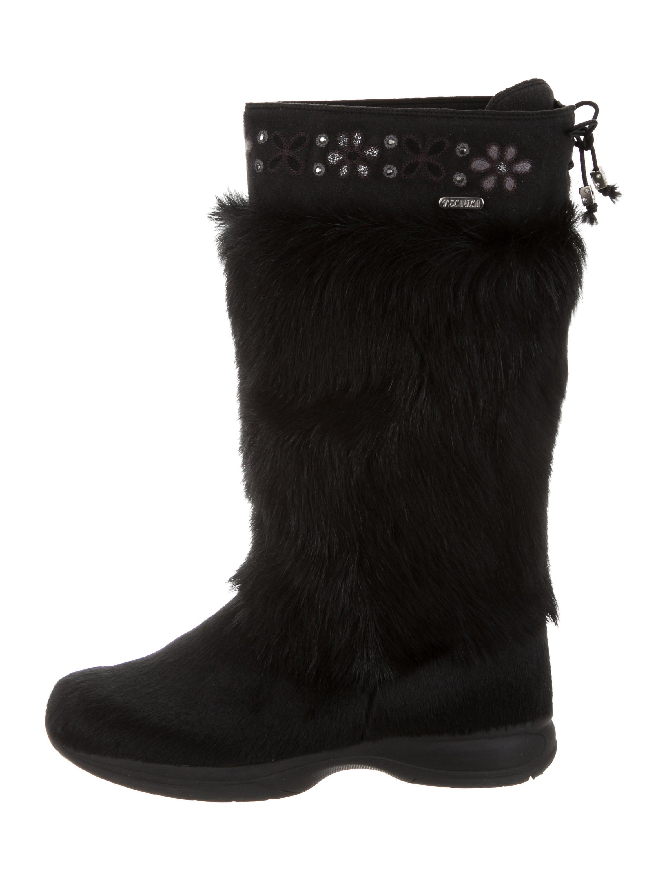 Tecnica Ponyhair Knee-High Boots cheap for cheap discount nicekicks cheap deals free shipping enjoy best cheap price UP8KIqc3H