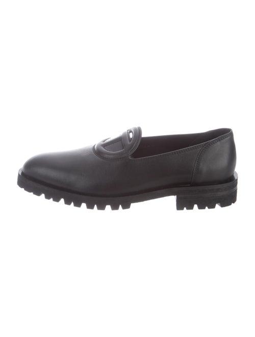 Telfar 2020 Leather Loafers w/ Tags Black