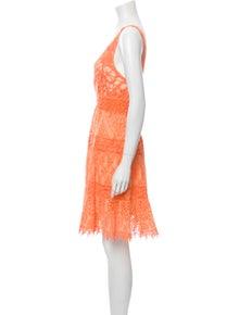 Temptation Positano Lace Pattern Mini Dress w/ Tags
