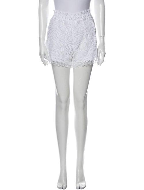 Temptation Positano Mini Shorts White