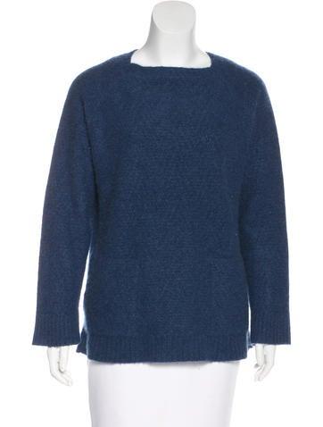 The Elder Statesman Square Neck Cashmere Sweater None