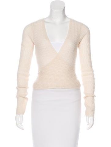Tsesay Cashmere Wrap Cardigan - Clothing - WTESY20019 | The RealReal