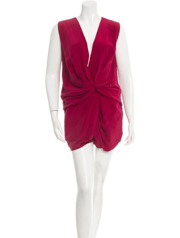Thakoon Silk Romper None