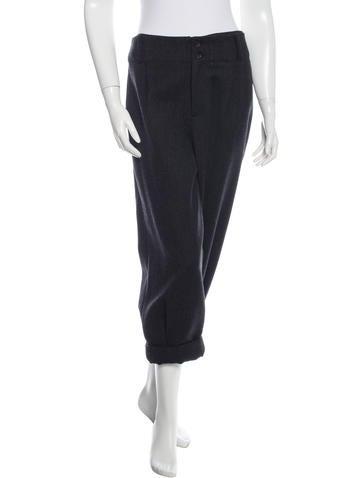Thakoon Virgin Wool Cropped Pants