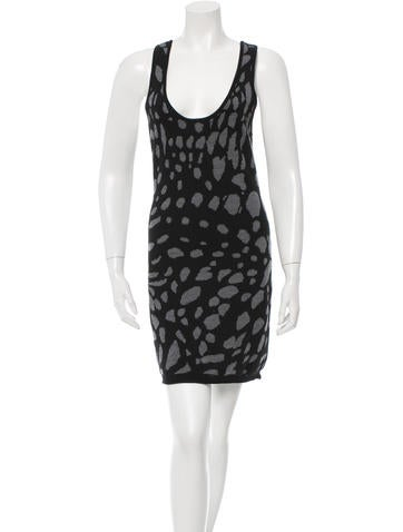 Thakoon Patterned Mini Dress None