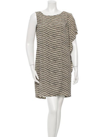 Thakoon Silk Striped Dress