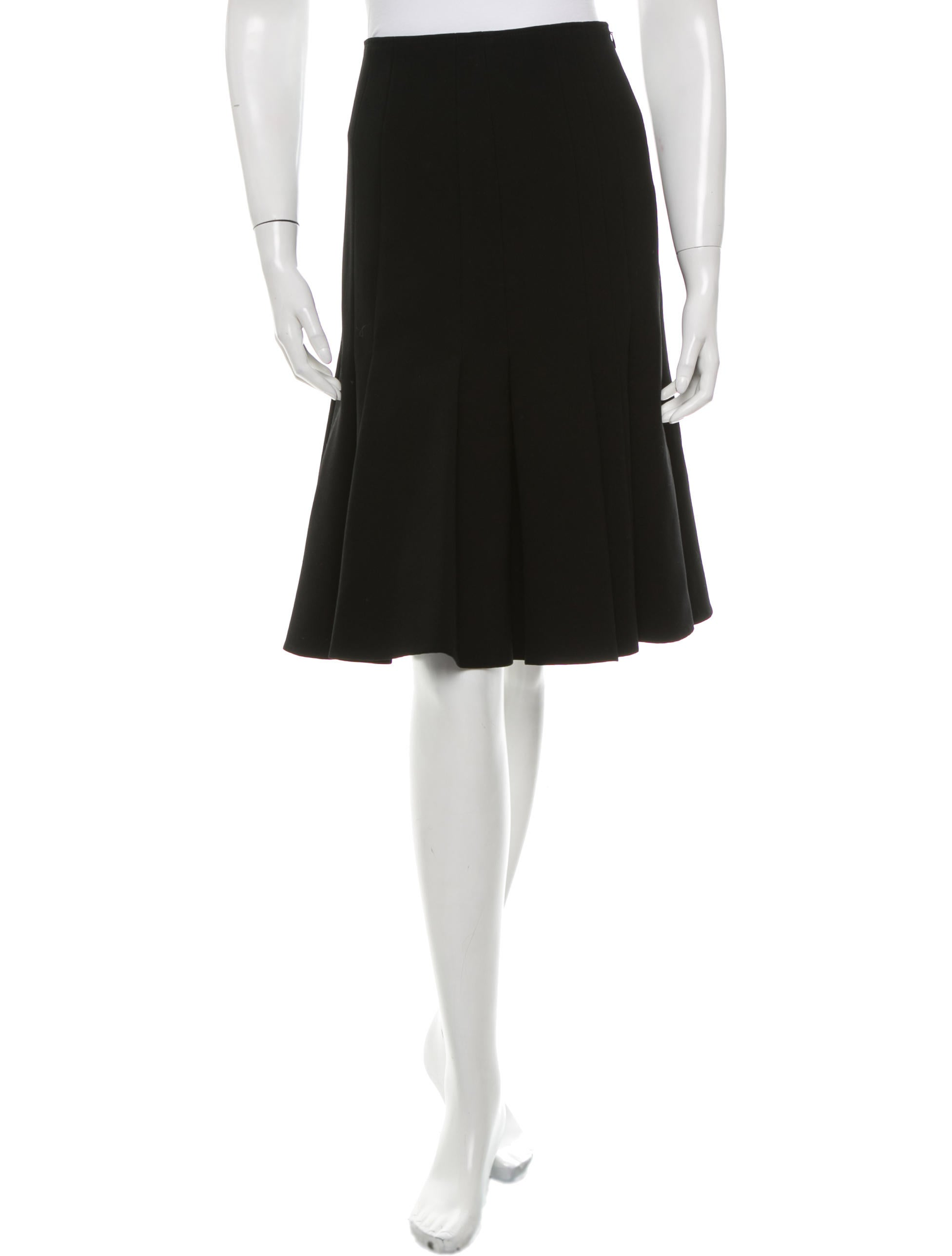 thakoon knee length pleated skirt clothing wthak24010