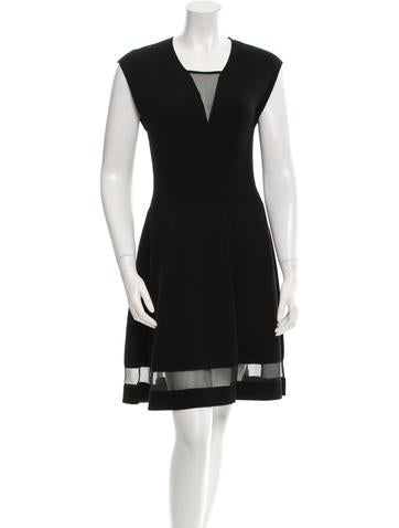 Thakoon Knit Wool Flare Dress None