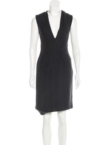 Thakoon Wool Sleeveless Dress None